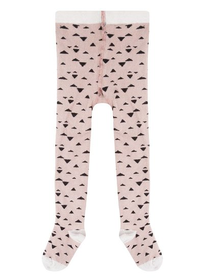 Triangle tights - Pale Pink