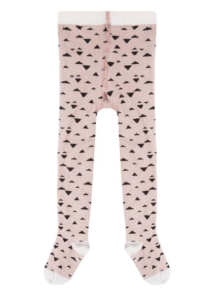 Triangle tights- Pale Pink