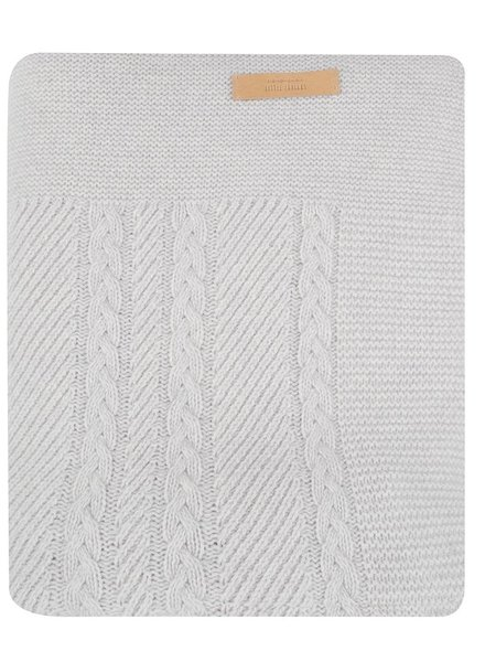 Blanket- grey cable