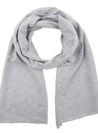 Scarf grey melange