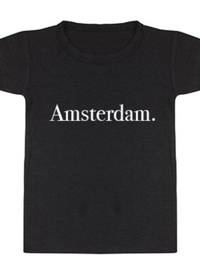 Tshirt Amsterdam black