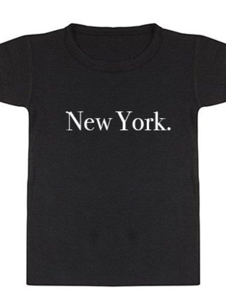 Tshirt New York Black - Universe.