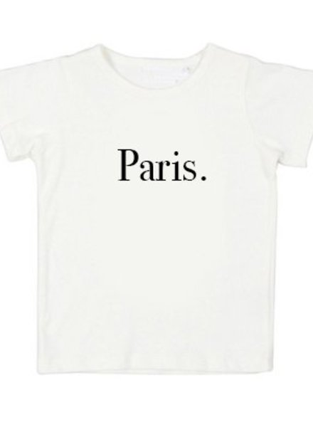 Tshirt Paris white - Universe.