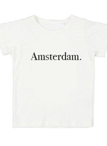 Tshirt Amsterdam White- Universe.