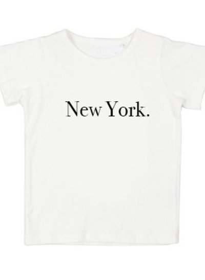Tshirt New York white - Universe.