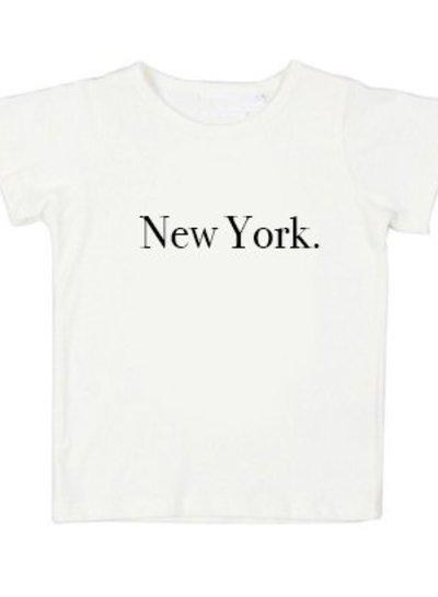 Tshirt New York white - Universe.