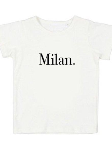 Tshirt Milan white - Universe.