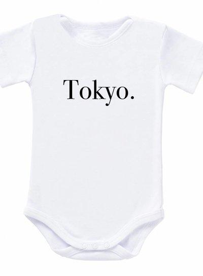 Romper Tokyo white - Universe.