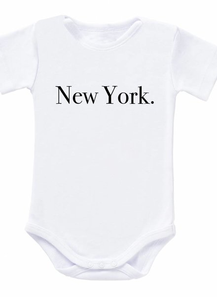 Romper New York white - Universe.