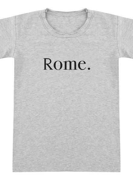 Tshirt Rome grey melange - Universe.