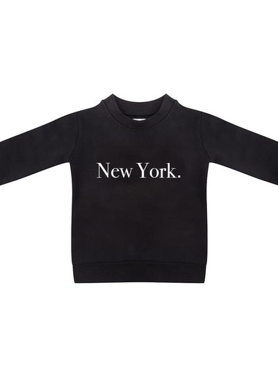 Sweater New York black - Universe.