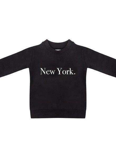 Sweater New York black - Universe.