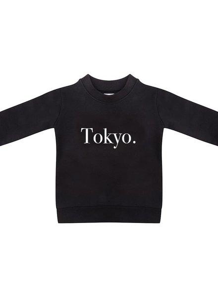 Sweater Tokyo black - Universe.