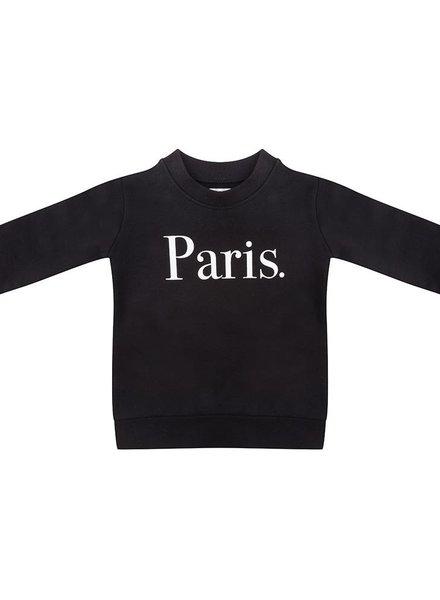 Sweater Paris black - Universe.