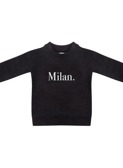 Sweater Milan black - Universe.
