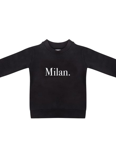 Sweater Milan black - Universe.
