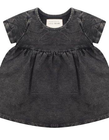 Vintage black dress - Short sleeve