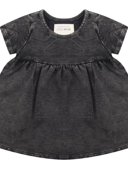 Vintage black jurkje - Korte mouw