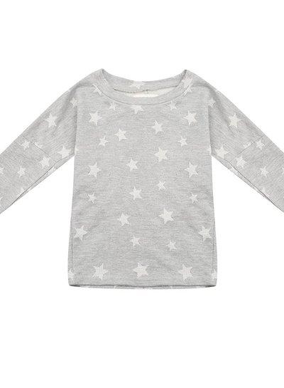 T-shirt dress - Star jacquard