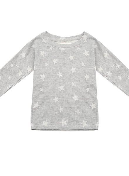 T-shirt jurkje - Star jacquard