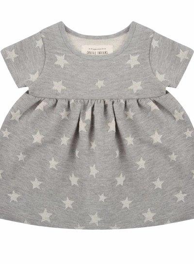 Star jacquard jurkje - Korte mouw