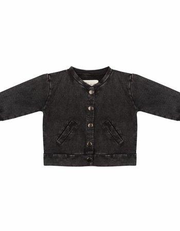 Baseball jacket - Vintage black