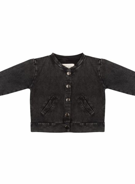 Baseball jacket - Vintage black