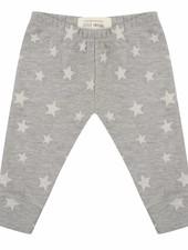 Legging Star jacquard - Grey Melange