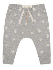 Pants Star jacquard - Grey Melange