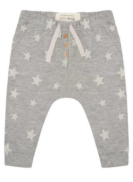 Pants Star jacquard - Grey Melange