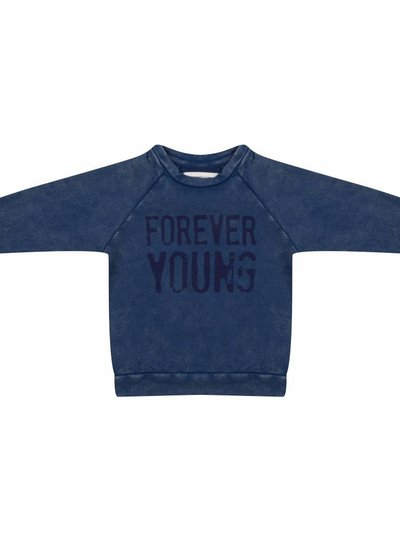 Forever Young sweater - blue