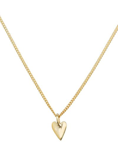 Necklace small heart - Gold Plated