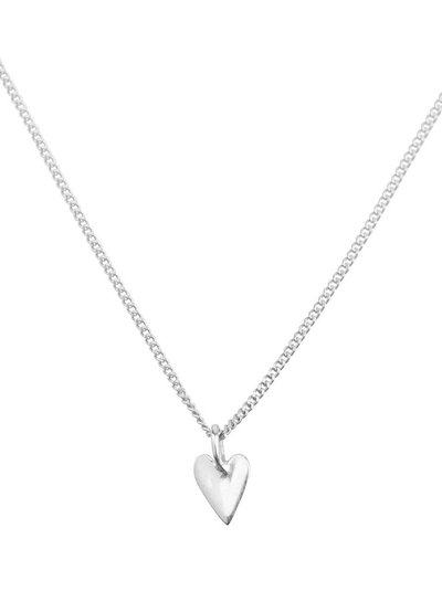 Necklace small heart - Silver