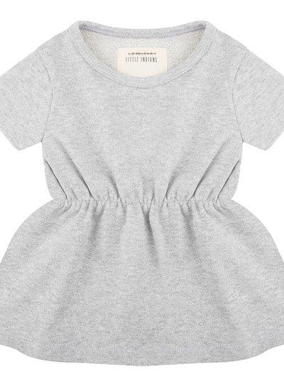 Lurex Dress - Grey