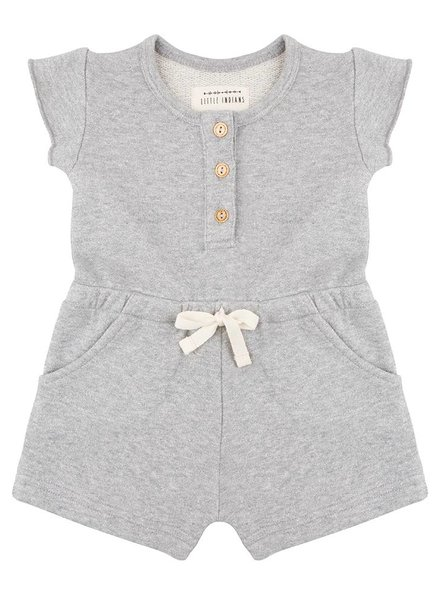 Lurex Jumpsuit - Grey