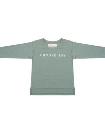 Longsleeve Choose Joy - Soft Green
