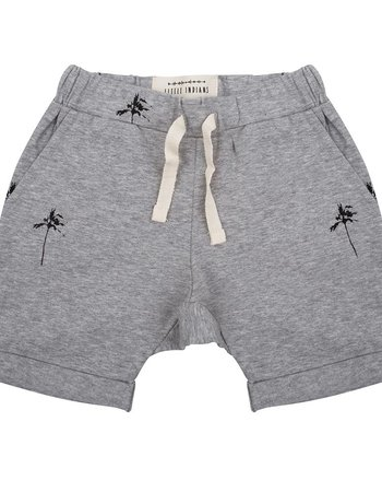 Shorts Palmtrees - Grey Melange