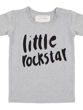 Shirt Little Rockstar - Grey melange