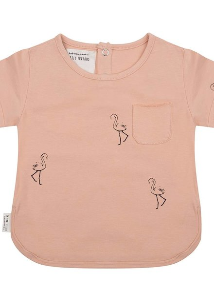 Shirt Flamingo - Dusty Coral