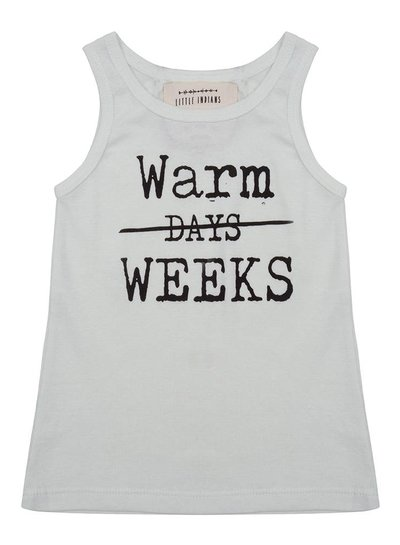 Tanktop Warm Days - Hint of Mint
