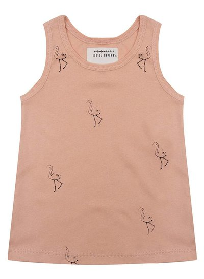 Tanktop Flamingo - Dusty Coral