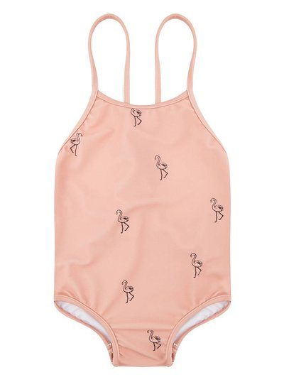 Swimsuit Flamingo - Dusty Coral