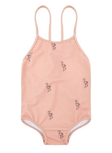 Swimsuit Flamingo - Dusty Coral