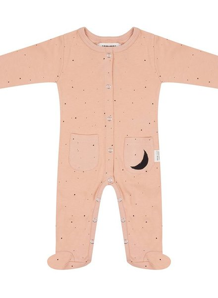 Jumpsuit Little Stars - Dusty Coral
