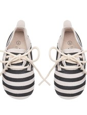 Oxford Booties - Stripes