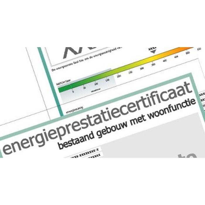Energieprestatiecertificaat