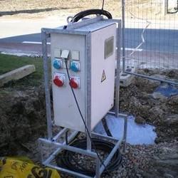 Elektrische keuring - Tijdelijke werfinstallatie
