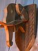 Dierenkop Olifant van steigerhout