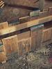 Bloembak Margriet van steigerhout