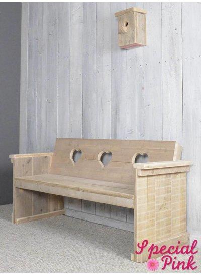 Tuinbank Tatum van steigerhout